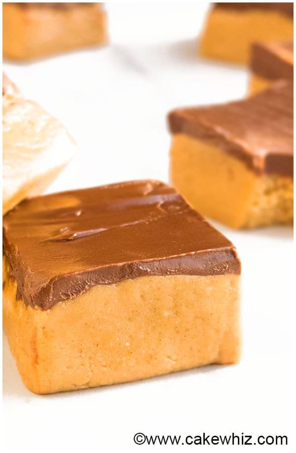 No Bake Peanut Butter Bars Recipe (Healthy) 3