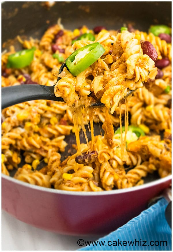 One Pot Taco Pasta Recipe 6