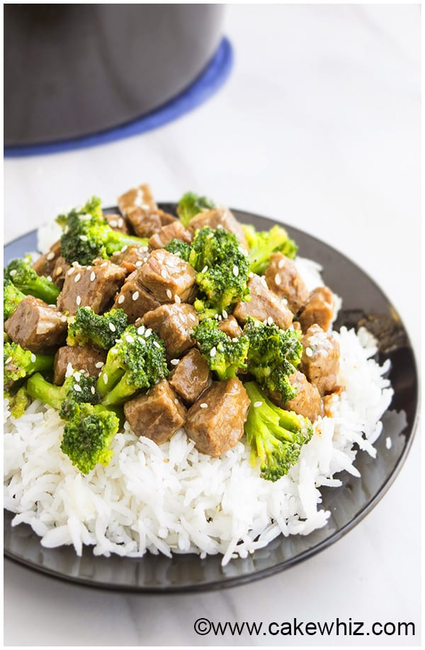 Slow Cooker Broccoli and Beef Recipe 3