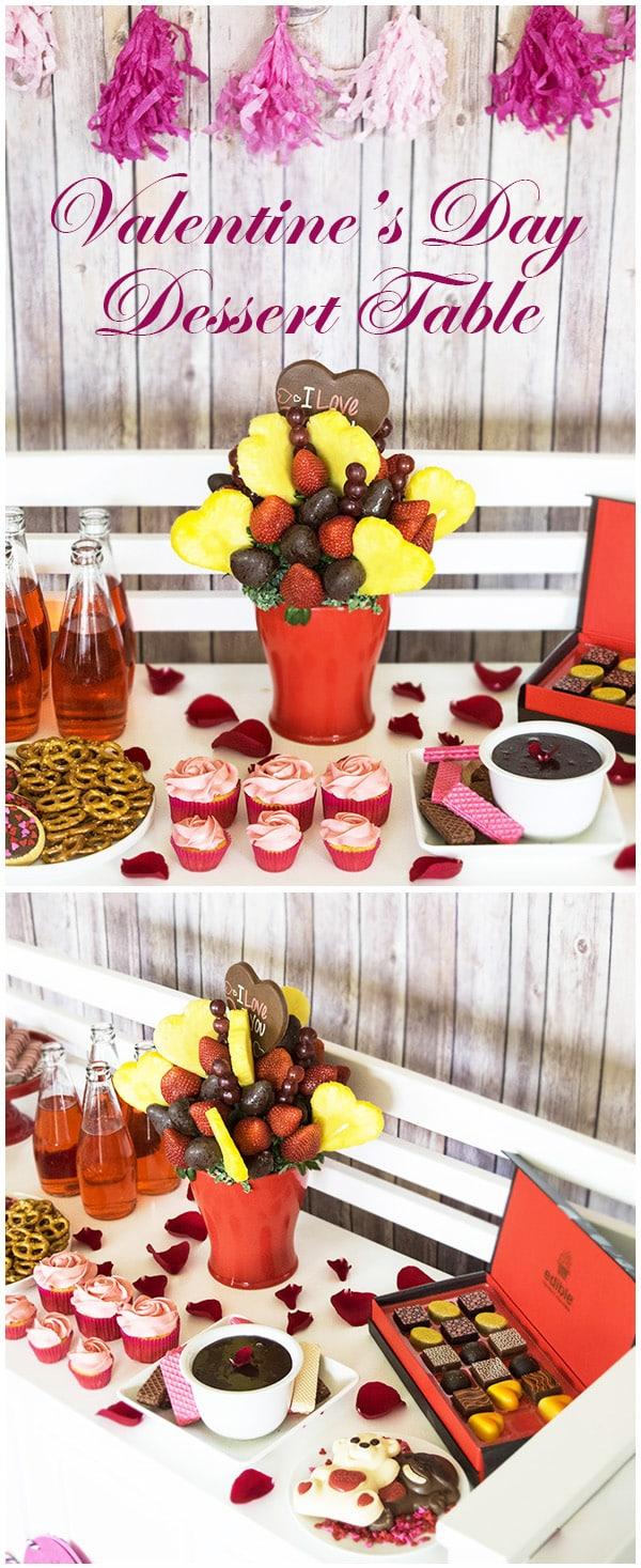 Valentine's Day Dessert Table 01