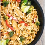Easy Chicken Pad Thai Recipe From Scratch