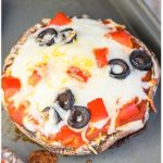 Easy Portobello Mushroom Pizza Recipe (Vegan, Gluten Free, Low Carb, Healthy)