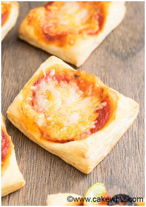 Easy Puff Pastry Pizza Recipe (Appetizer) 3