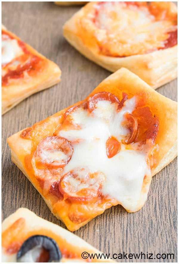 Easy Puff Pastry Pizza Recipe (Appetizer) 6