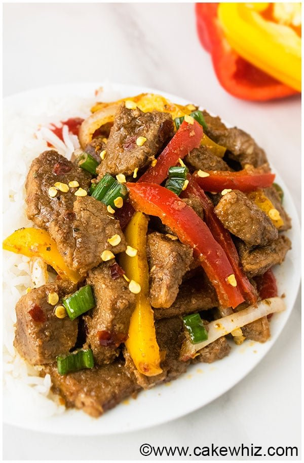 One Pan Spicy Beef Stir Fry Recipe 7