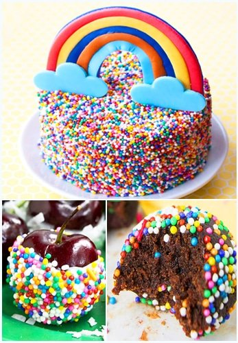 Rainbow Desserts Recipes Ideas