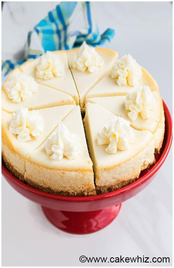 Classic New York Cheesecake Recipe
