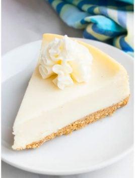 Easy New York Cheesecake Recipe
