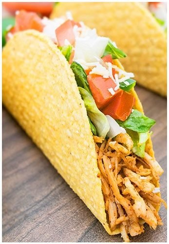 Shredded Chicken Tacos Cakewhiz