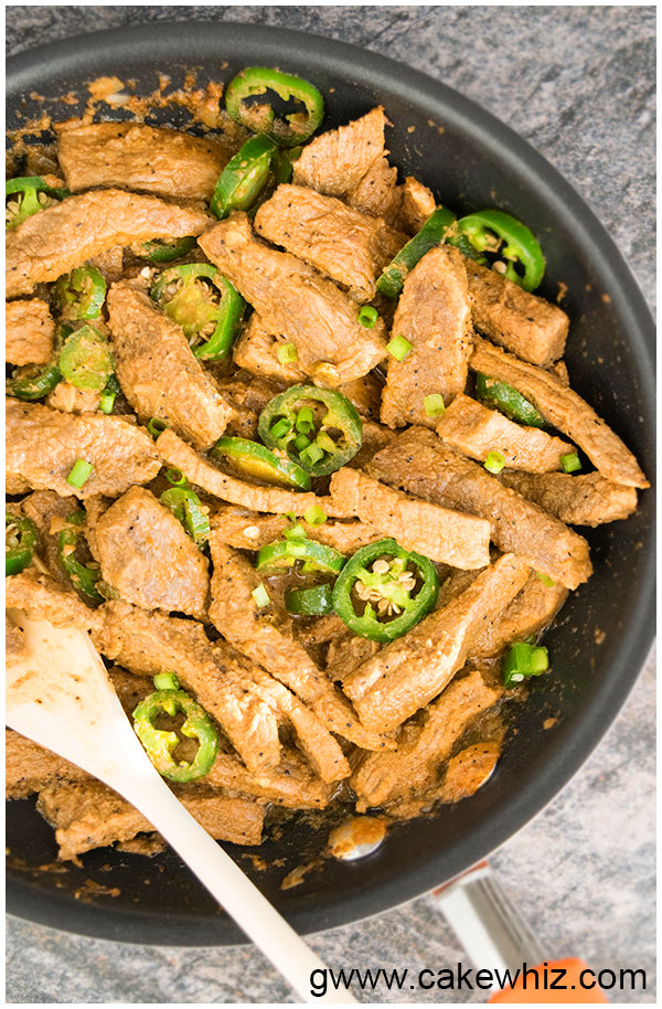 Jalapeno Beef (Easy 30 Minute Meal)
