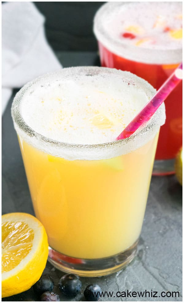 Old Fashioned Sparkling Lemonade Recipe