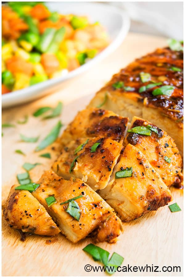 Best Baked or Grilled Chicken Marinade Recipe