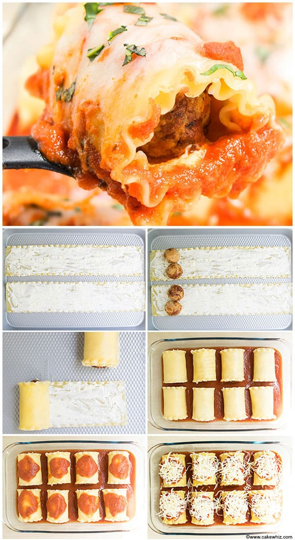 Meatball-Lasagna-Roll-Ups-(Step-by-Step-Instructions)