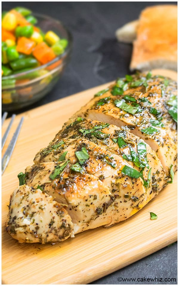 Baked or Grilled Greek Chicken Marinade Recipe