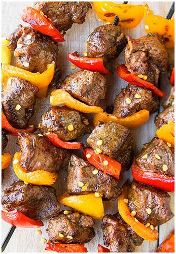 Quick and Easy Grilled Steak Kabobs Recipe