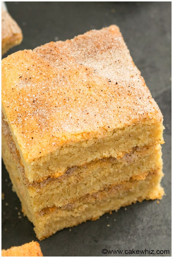 Snickerdoodle Bars Recipe From Scratch