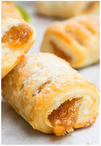 Quick and Easy Apple Strudel Recipe (Puff Pastry)