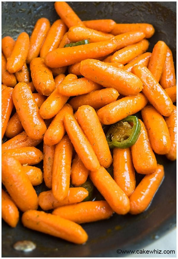 Easy Glazed Carrots Recipe