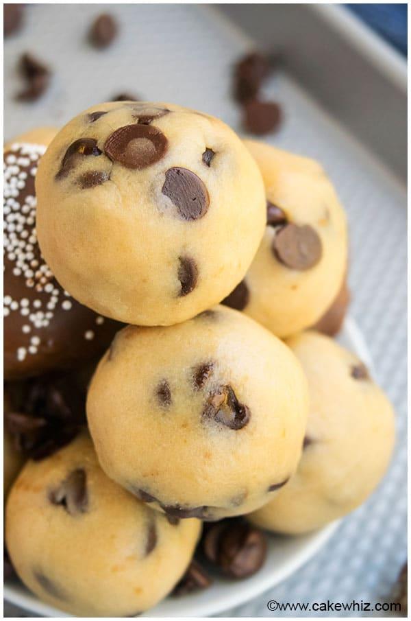 Can You Freeze Chocolate Chip Cookie Dough Truffles