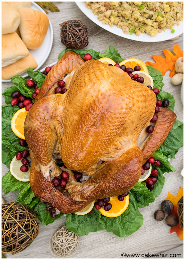 Quick, easy and helpful tips for hosting Thanksgiving Dinner party. Everything you need to know about the turkey, sides and desserts to make it successful!