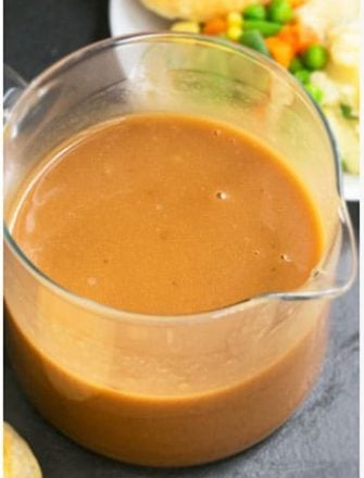 How To Make Homemade Gravy From Scratch (Old Fashioned Brown Gravy Recipe With Meat Drippings)
