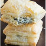 Spinach Puffs Recipe (Spinach Cream Cheese Puff Pastry Appetizer)