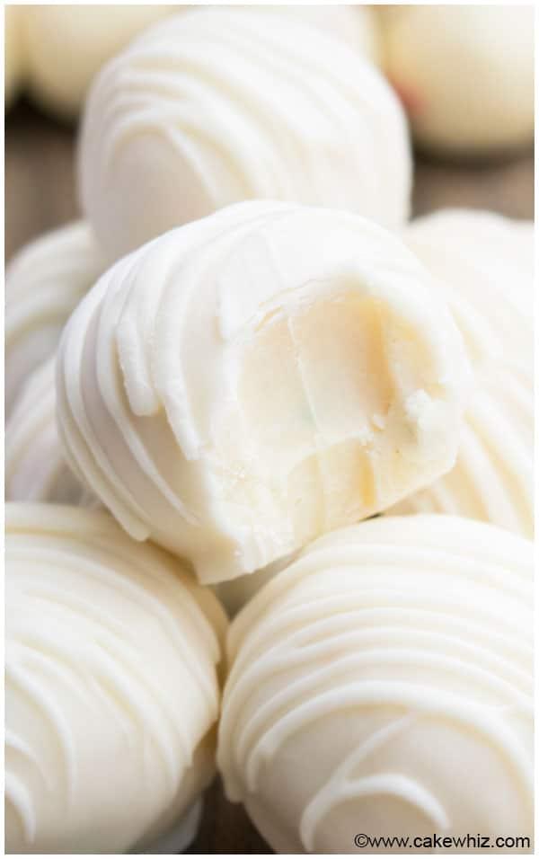 White Chocolate Truffles Recipe - CakeWhiz