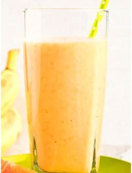 Easy Banana Mango Smoothie Recipe