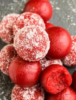 Easy Red Velvet Truffles Recipe