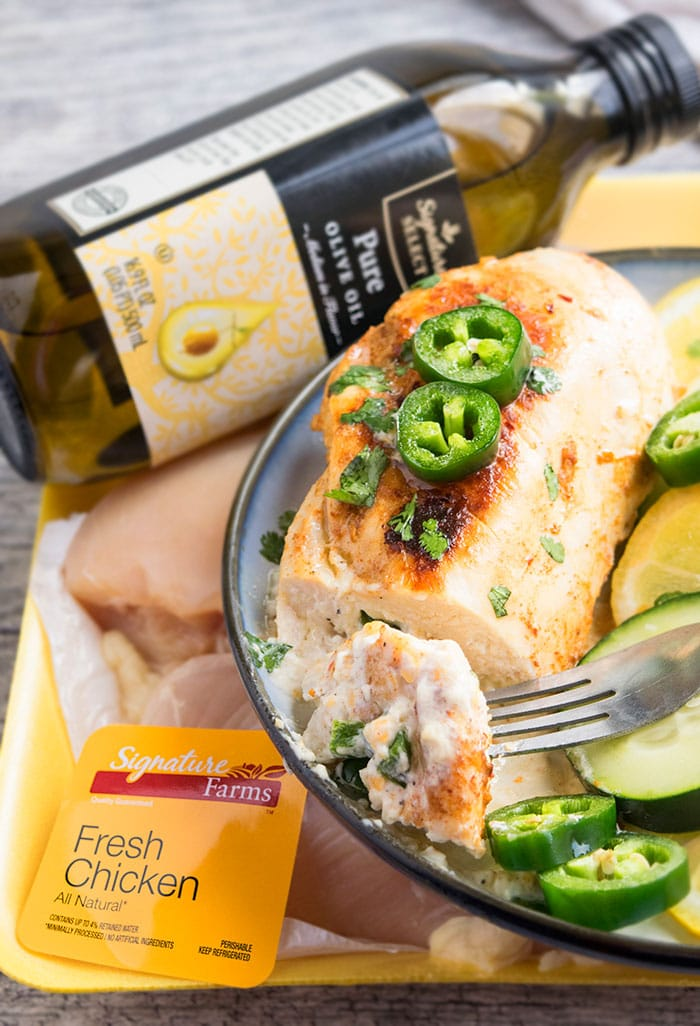 Jalapeno Stuffed Chicken Breasts