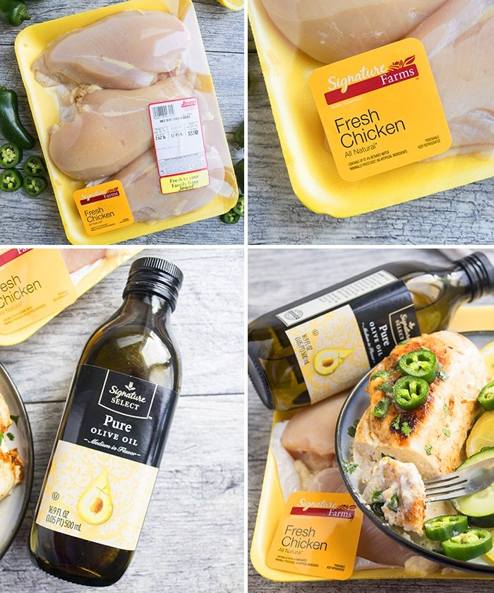 Signature Farms Chicken for Jalapeno Popper Chicken