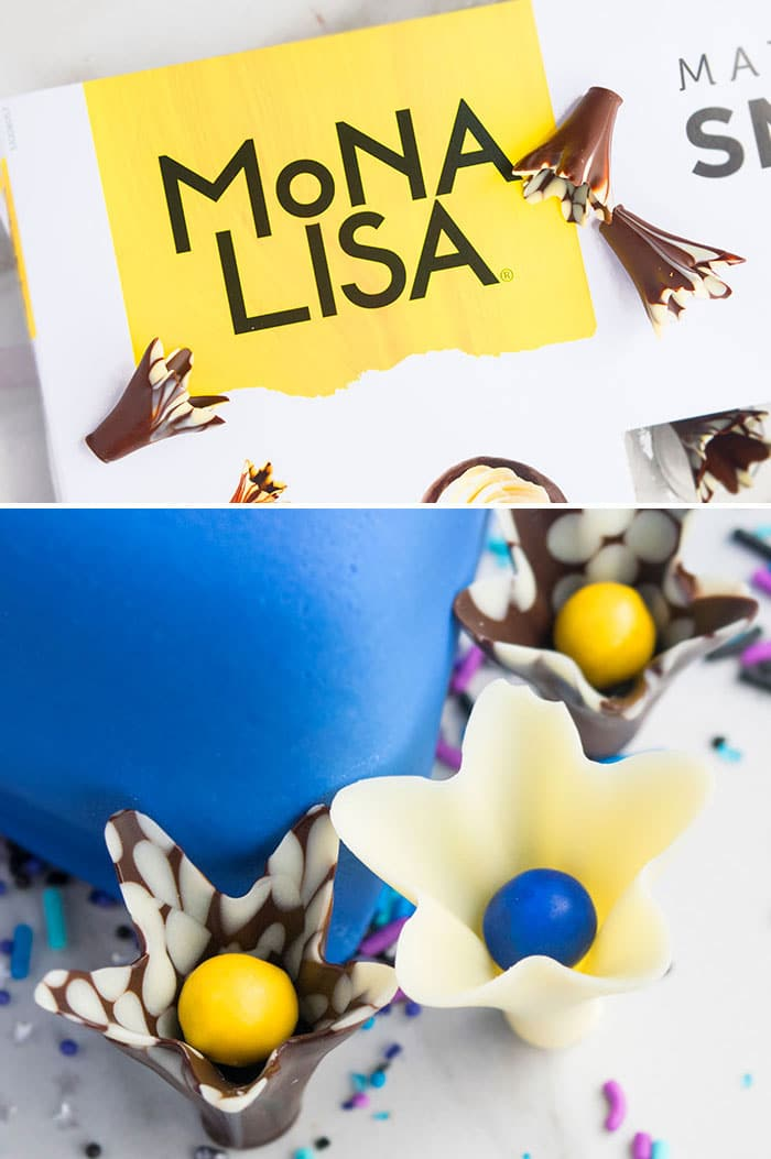 Mona Lisa Chocolate Cups