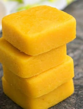 Lemon Fudge (2 Ingredient Recipe)