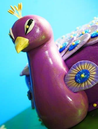 How To Make Peacock Cake (With Tutorial)