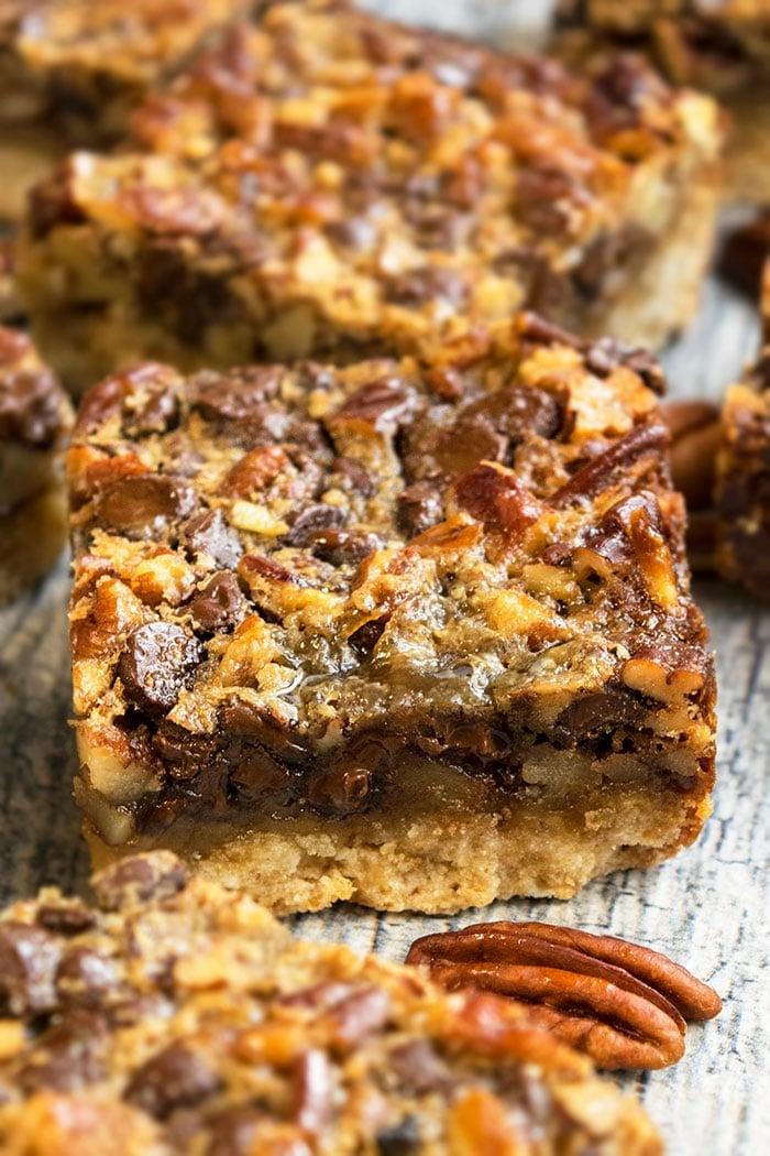 Easy Chocolate Pecan Pie Bars Recipe