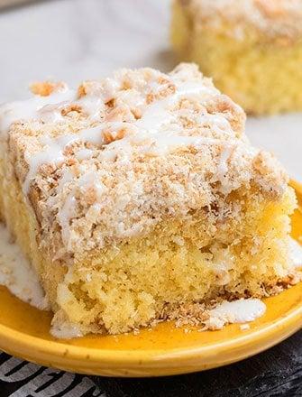Fresh Apple Cake with Cake Mix