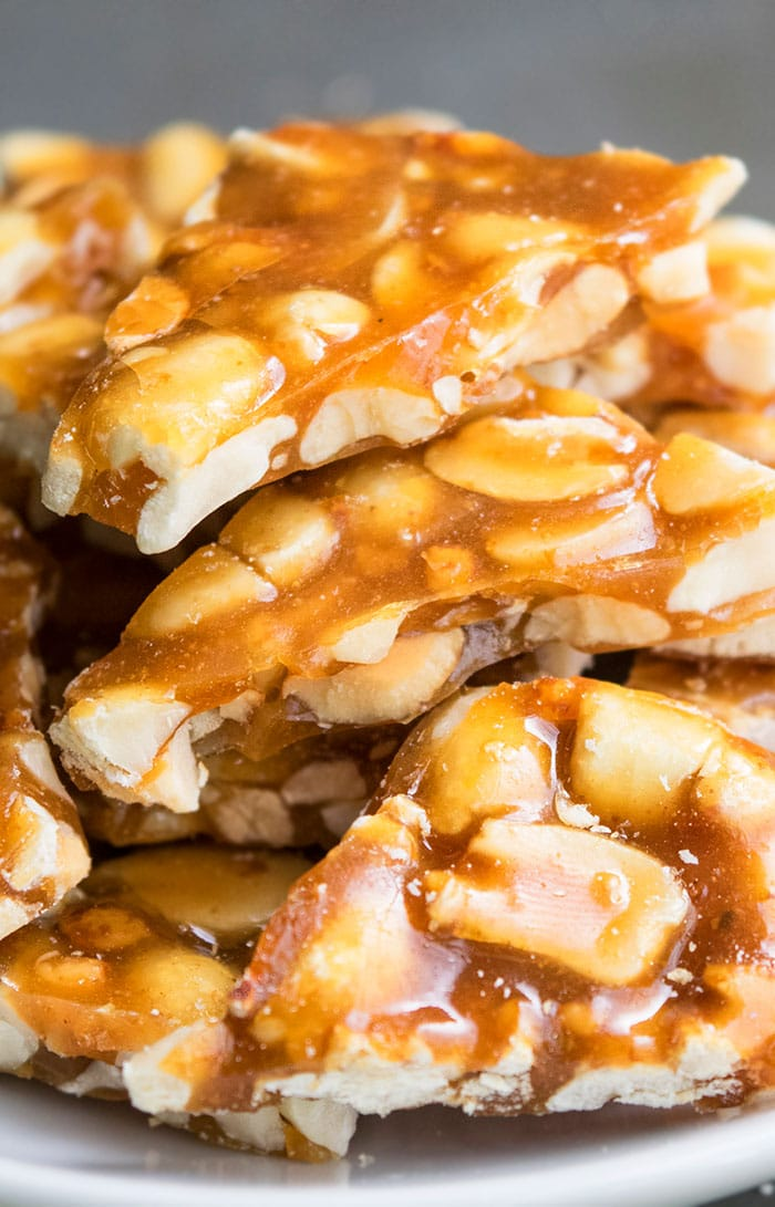 Homemade Peanut Brittle Recipe (Old Fashioned)