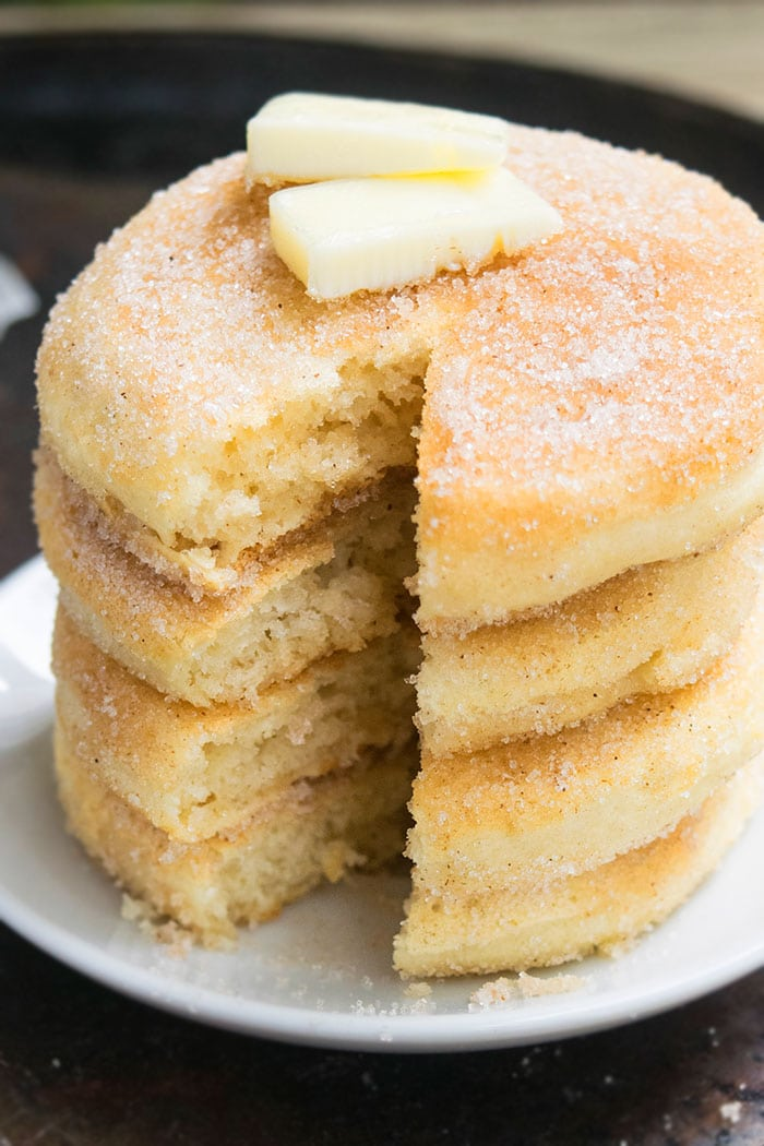 Fluffy Cinnamon Pancakes Recipe