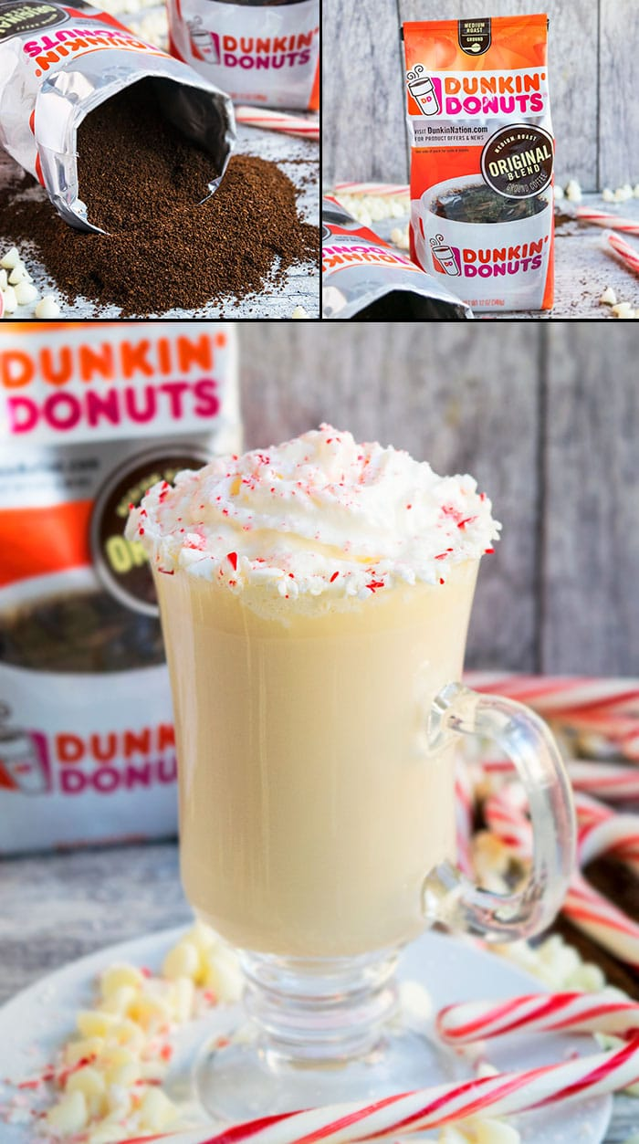 Peppermint White Chocolate Mocha- Dunkin Donuts Campaign
