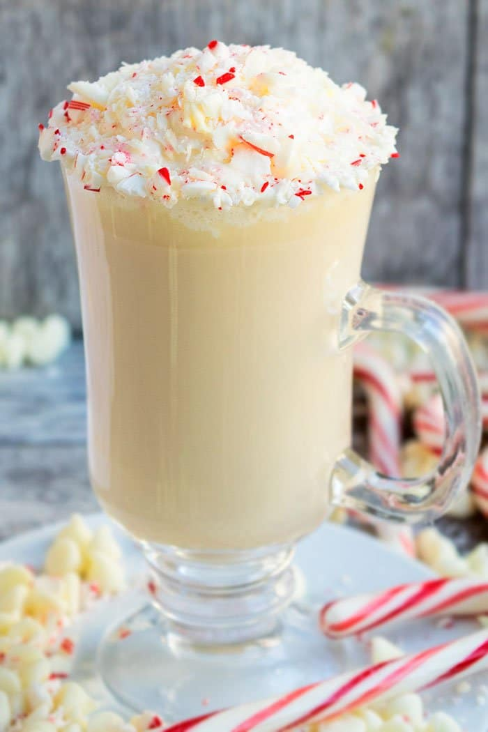 How to Make White Chocolate Mocha