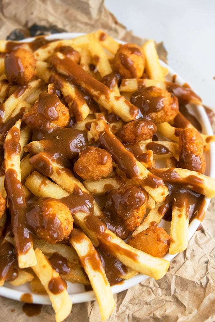 Easy Canadian Poutine Recipe