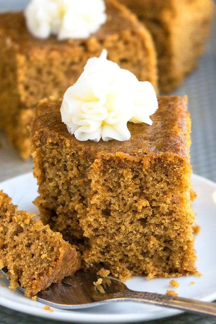 Classic Gingerbread Cake Recipe with Cream Cheese Frosting