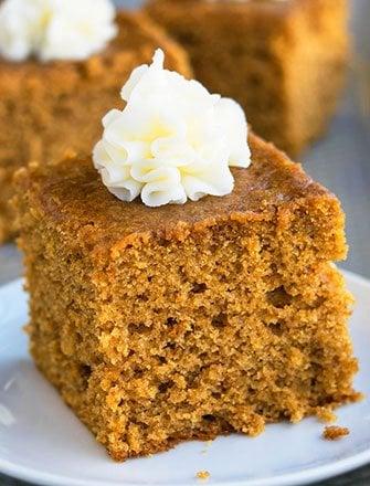 Easy Gingerbread Recipe (Gingerbread Cake Recipe)