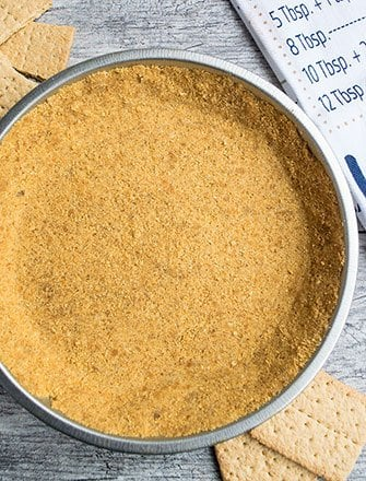 How to Make Graham Cracker Crust Recipe (No Bake)