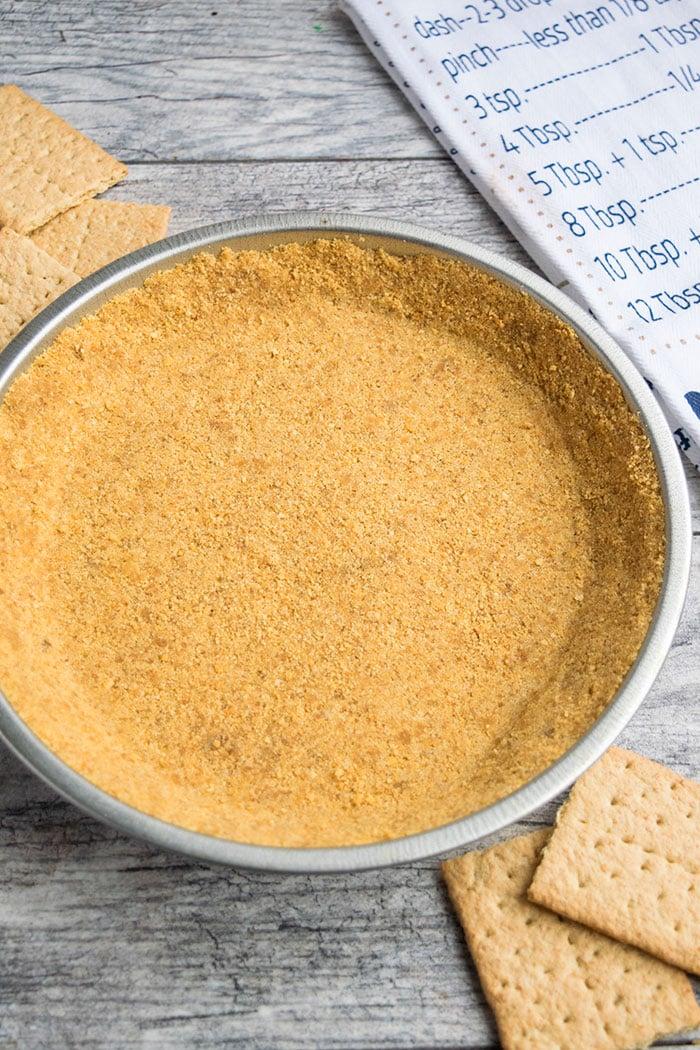 No Bake Graham Cracker Crust Recipe