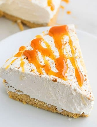 Easy Eggnog Cheesecake Recipe (No Bake)
