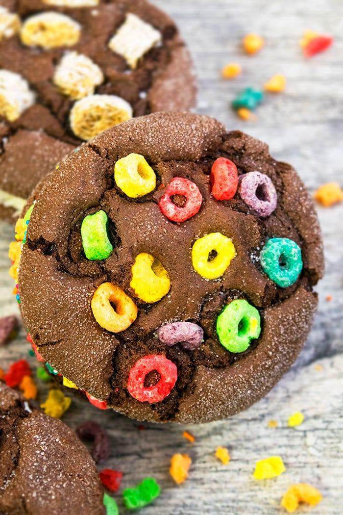 Chocolate Cookie Ice Cream Sandwich Recipe