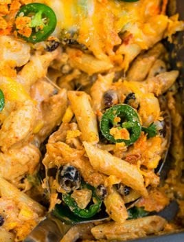 Easy Jalapeno Chicken Pasta Bake Recipe
