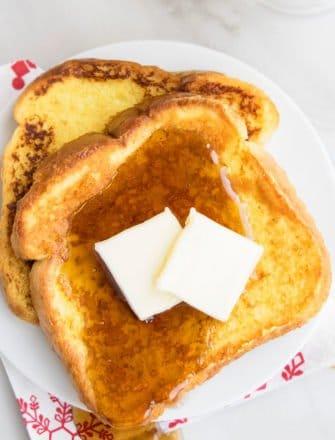 Easy Eggnog French Toast Recipe