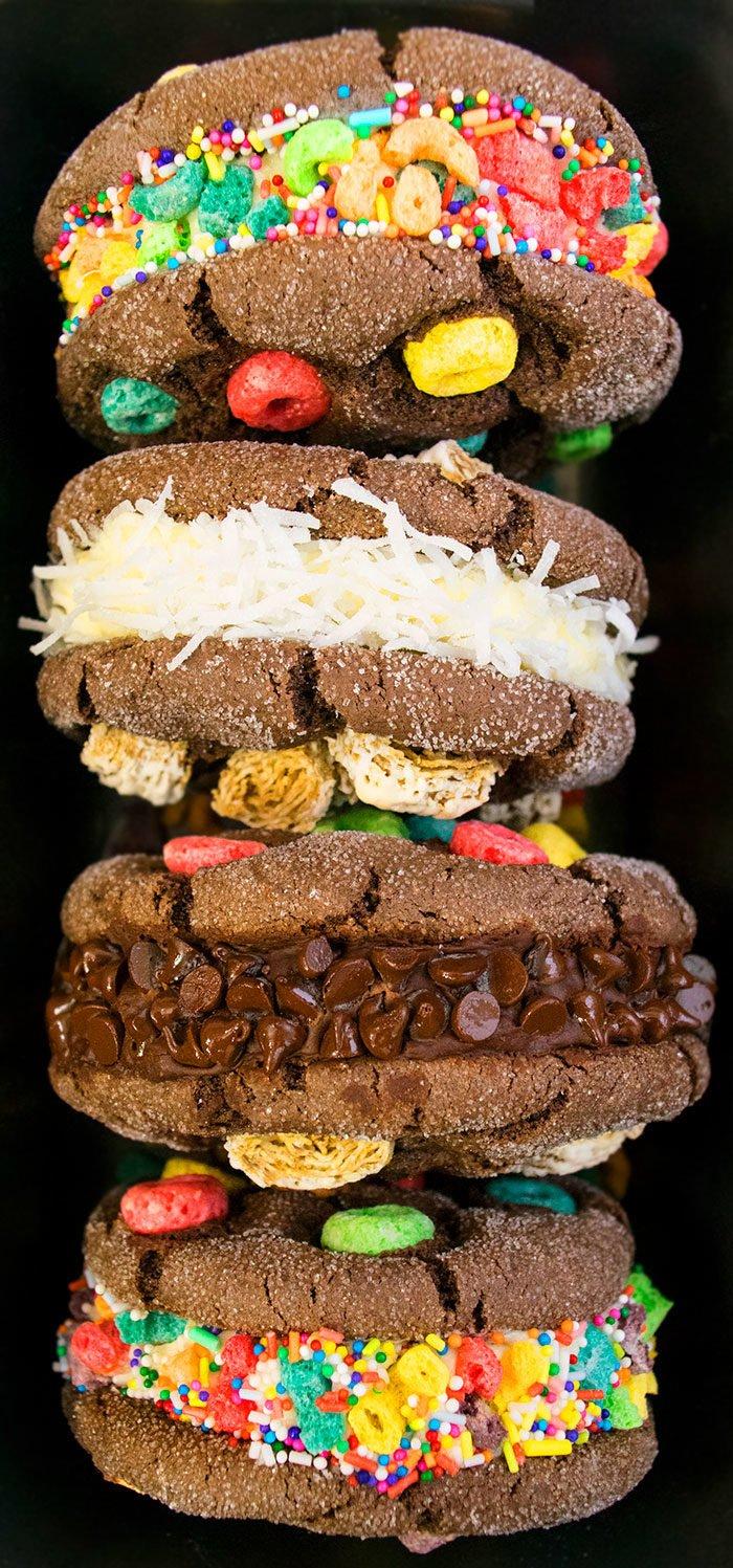 Easy Ice Cream Sandwich Recipe